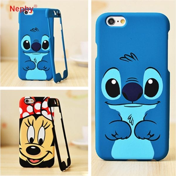 ETUI Mickey Minnie Mouse iPhone 6 6s 6s Plus